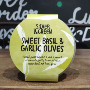 Mange2 Deli - Sweet Basil & Garlic Olives