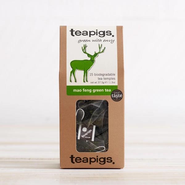 Mange2 Deli - teapigs mao feng green tea